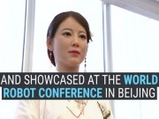 """Công nghệ thông tin - """"Nàng"""" robot cực xinh đẹp hiểu tiếng người"""