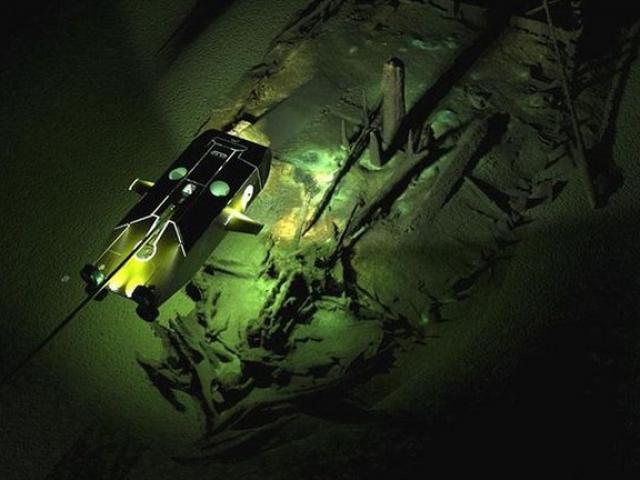 Tìm thấy đội tàu ma từ thời Trung Cổ dưới đáy Biển Đen