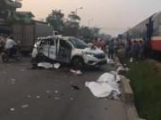 Nguyên nhân vụ tai nạn đường sắt 6 người chết ở Hà Nội