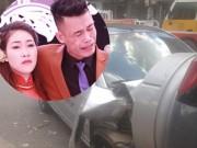 Vợ sắp đẻ của Hiệp Gà ra sao sau tai nạn nát đầu xe hơi?