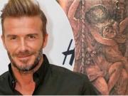 Làm đẹp - Ngắm hình xăm mới siêu đẹp và chất của David Beckham