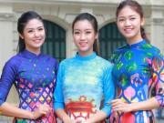 Thời trang - HH Ngọc Hân, Mỹ Linh ra phố nhảy flashmob cực sung