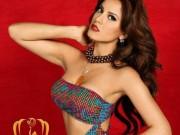 Thời trang - Ngắm đường cong nóng bỏng của Tân Hoa hậu Trái Đất