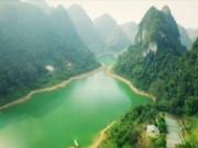"""Du lịch - Cuối tuần rủ nhau về hồ Thang Hen """"trốn đời"""""""