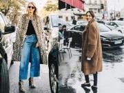 5 cách mặc áo khoác lông sexy hơn ngày chớm đông