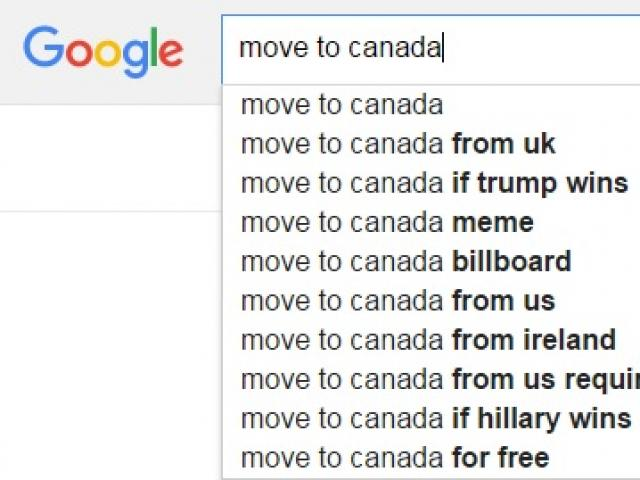 Thế giới - Người Mỹ ồ ạt tìm đường rời nước khi thấy Trump thắng?