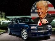 """5 mẫu xế  """" cưng """"  của tân Tổng thống Mỹ Donald Trump"""