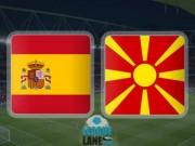 """Tây Ban Nha - Macedonia: Tiếp tục  """" tập bắn """""""