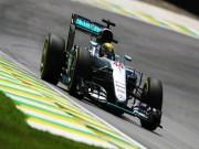 Đua xe F1 - F1, đua thử Brazilian GP: Red Bull bám đuổi Mercedes