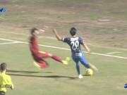 Quế Ngọc Hải tung chân khiến cầu thủ Nhật Bản sợ hãi