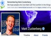 """Mark Zuckerberg bị  """" báo tử """"  trên Facebook"""