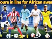 Hay nhất châu Phi: Yaya Toure thất thế, Mahrez đua Aubameyang