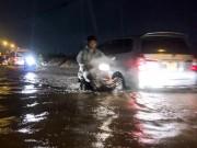 Tin thời tiết - TP.HCM: Nhiều tuyến đường lại sắp bị ngập dù không mưa