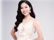 Diệu Ngọc rạng rỡ với đầm ren trước thềm Miss World