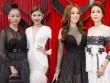 Dàn mẫu Việt đọ dáng đồng hồ cát với váy áo sexy