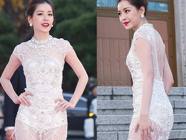 Chi Pu xinh như công chúa, được báo Hàn hết lời ca ngợi