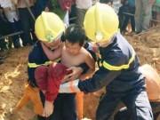 Tin tức trong ngày - Khoan bê tông giải cứu cháu bé lọt dưới hố sâu
