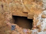 Tin tức trong ngày - Phát hiện 2 ngôi mộ cổ cạnh trường mầm non