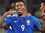 "Brazil, G.Jesus: Nối gót Ro  "" béo ""  rực sáng tuổi 19"