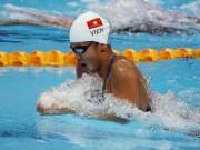 Ánh Viên về thứ 4 châu Á, hụt huy chương 400m tự do