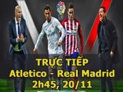 Bóng đá - Chi tiết Atletico – Real Madrid: Carrasco liên tục bỏ lỡ (KT)
