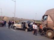 Tai nạn cao tốc Hà Nội-Thái Nguyên: Bắt khẩn cấp lái xe Innova
