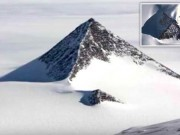 Giới khoa học sửng sốt với  kim tự tháp tuyết  ở Nam Cực