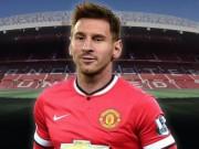 """Bóng đá - MU mua Messi 100 triệu euro: Sự """"xúc phạm"""" với Barca?"""