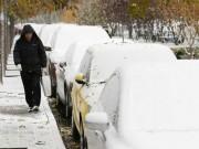 Tuyết đầu mùa phủ trắng Trung Quốc