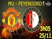 Bóng đá - MU – Feyenoord: Trả hận ở Old Trafford
