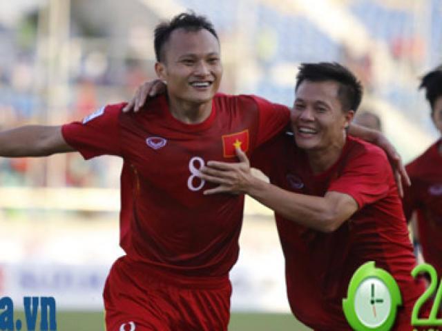 """Bóng đá - BXH FIFA tháng 11: Thái Lan """"đuổi kịp"""" Việt Nam nhờ AFF Cup"""