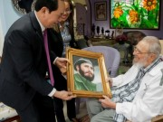Chủ tịch Quốc hội dự lễ tang lãnh tụ Fidel Castro