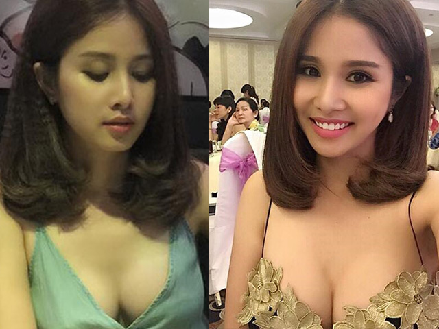 """Ai cũng phải nhìn vì vợ cũ Phan Thanh Bình quá """"nóng"""" nơi đông người"""