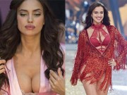 Irina Shayk mang bầu vẫn siêu gợi cảm diễn nội y?