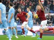 Serie A trước vòng 15: Lửa cháy thành Rome