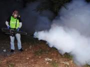 TP.HCM thí điểm phun thuốc muỗi bằng kỹ thuật khói nóng
