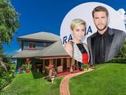 """Ngắm  """" tổ ấm """"  triệu đô của Miley Cyrus và Liam Hemsworth"""
