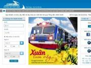 Nhiều website có tên miền giống ngành đường sắt bán vé tàu với giá  cắt cổ