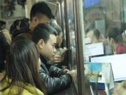 TP.HCM: Người đi tàu Tết bị  cò  lừa bán vé giả