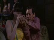 """Chết cười với cảnh  """" gái quê """"  Trang Nhung lần đầu đi bar"""