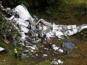 Đội bóng Brazil chết thảm vì máy bay rơi bị phạt 720 triệu