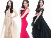 """Diệu Ngọc  """" chinh chiến """"  Miss World với váy siêu quyến rũ"""