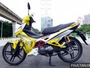 Cận cảnh xe số giá rẻ SYM Sport Rider 125i