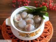 Ngon xuýt xoa chè hai vị mặn ngọt xứ Huế