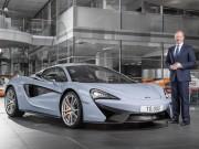 McLaren đạt mốc sản xuất 10.000 siêu xe