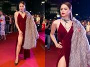 Hương Giang Idol mặc váy cắt trên xẻ dưới hút mọi ánh nhìn