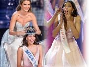 Phì cười với biểu cảm của Hoa hậu Thế giới vừa đăng quang