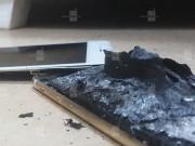 Nóng: Apple iPhone 6s lại phát nổ sau khi sạc pin