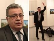 Video hung thủ lượn lờ, rút súng ám sát đại sứ Nga