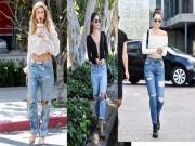 Những cách mix đồ hoàn hảo với quần boyfriend jeans